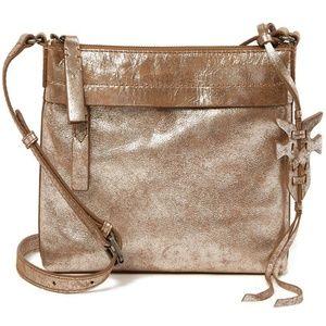 Frye New Carson Crossbody Bag Silver Multi Leather